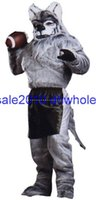 adult football helmet xl - High quality EVA Material Helmet football Werewolf Mascot Costumes walking cartoon Apparel customization Adult Size