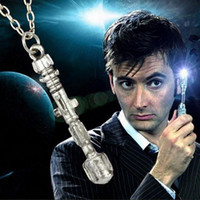 acrylic flute - Television Doctor Who Sonic Screwdriver Europe Jewelry Doctor Who Flute Necklace DM077