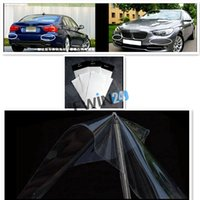 auto bumper protection - Brand new and high quality Car Auto Clear Paint Protection Film Back Bumper cm cm set sets