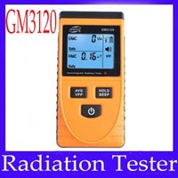 Wholesale Electromagnetic radiation tester GM3120 electric field V m magnetic field uT