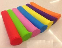 Wholesale Silicone Push Up Ice Cream Jelly Lolly Pop Maker Popsicle Mould Mold