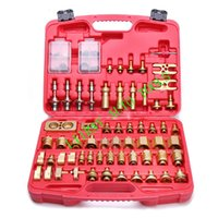 Wholesale AUTO AC LEAK TEST DEVICE tools repair LEAK TEST kit R134A for EUROPEAN AND JAPANESE CARS