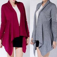 Wholesale Cashmere Shawl Cardigan For Ladies Solid Knitting Wraps Winter Sweater Outwear Fashion Sweater Cashmere Large Shawl Cardigan W021