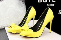 Wholesale Women s Shoes Stiletto Heel High Heels Pointed Toe Pumps Casual Fashion Lady Shoes More Colors Available BY0000