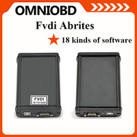Cheap 2015 Super scanner FVDI ABRITES Commander with 18 softwares in auto Diagnostic tool Newest Version