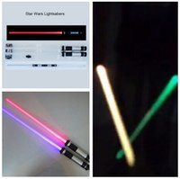 Wholesale Star Wars Lightsaber Lightsabers Can Be Connected Toys Many Colors Change Star Wars Attachable Lightsaber