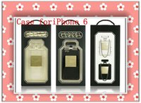 Wholesale New Perfume Bottle Clear TPU Case for iPhone S S Plus Samsung Galaxy S3 S4 S5 Note Taste Flvor with Chain Retail Box