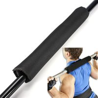 Wholesale Excellent quality Barbell Pad Gel Supports Neck Shoulder Squat Bar Weight Lifting Pull Up Gripper cm cm