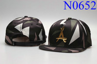 Wholesale New tha alumni gold quot A quot hats Snapback caps mens snapback cap basketball hat baseball caps bone snapback diamond hip hop hats tmt Ball Caps