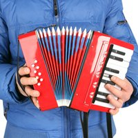Wholesale New Hot Key Bass Kids Children Mini Small Accordion Educational Musical Instrument Rhythm Band Toy Great Gift