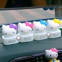 Wholesale New hello kitty bow KT perfume car seat car perfume car accessories ointment