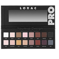 Wholesale LORAC PRO PALETTE color eyeshadow with eye Primer Powder Eyeshadow Blush Makeup Cosmetic Palette Eye Shadow Palette Mineral Eyeshadow