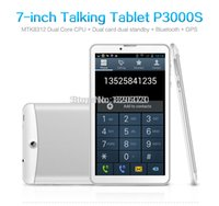 Tablette dual sim g Avis-Gros-ORIGINAL JXD P3000S 3G Dual core 7 pc pouces Tablet 512MB4G WIFI Bluetooth FM double caméra Android 4.2.2 G-sensor OTG Dual SIM