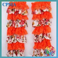 Wholesale 2015 Calentadores Hot Floral Girls Cotton Spandex New European Style Lace Baby Socks Leg Sleeve Mesh Ventilation Tube Leggings