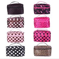 nylon cosmetic bag - Portable Cosmetic Bag Storage Women Bag Toiletry kit Handbag Travel Wash Pouch Bag Makeup Package Waterproof Washing Purse C809