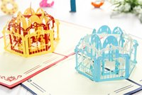 pop up birthday card - 2015 Exclusive Merry Go Round Handmade D Pop UP Greeting Cards set of