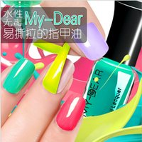 Wholesale Fashion op Nail Polish Lacquer Candy Color Easy Day Enamel Polish Nail Art Decoration Nails Nail Lacquer Nail Art Salon Gel colors WG5