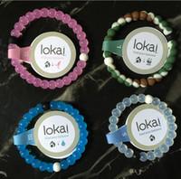 beaded jewelry - bracelet Silicone Bracelet Mud and Water beads Gift Jewelry Lokai Bracelet