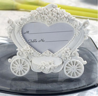 baby names cute - Heart Wedding Table Name Place Cards Holder Cute Carriage Resin Photo Frames Gifts Party Favor Baby Shower Decor