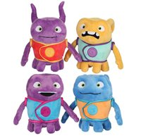 baby aliens toys - 2016 New Dreamworks Movie HOME quot OH Boov Alien Stuffed Plush Doll Toys Captain Figure Toys Cartoon Lovely Kid Toy Baby Toys