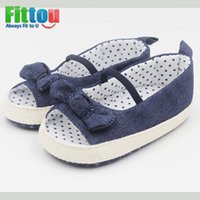 stretch band - Fahion Baby Shoes Girls Bow knot Danim Dot Flat Shoes Infant Butterfly knot Elastic Band Shoes Nursling Newborn Age months S23