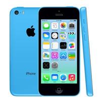 Wholesale Original Refurbished Apple iPhone C IOS8 inch Retina Screen G LTE Smartphone US UK EU AU Version Blue Green Pink White Yellow