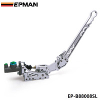 Wholesale EPMAN High Quality Universal Jdm Hydraulic Horizontal Rally Drifting E brake Lever HandBrake Sliver in stock EP B88008SL