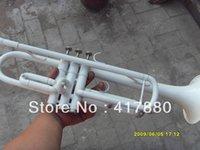 Los fabricantes al por mayor ytr-1335 inventan al por mayor los altavoces blancos de marfil blancos del Bb de la superficie de la trompeta del Bb de la venta al por mayor del Bb El envío libre