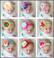 Cheap Headbands flower hair Best Cotton Patchwork hair accessories