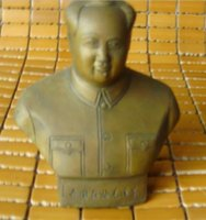 Wholesale chinas Collectibles statue coppe Adornment Chairman mao