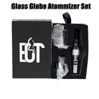 Compra Hierbas vaporizador globo-3 en 1 Globo de cristal del atomizador Conjunto de cera seca la hierba vaporizador con 3 bobinas de hilo de la batería del ego