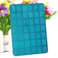 Wholesale Stainless Steel Flower Design Templates Stamping Plates Plate Nail Art Image Stamp Manicure Template