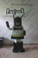 Wholesale POLE STAR MASCOT COSTUMES custom LEGO batman costumes cartoon grey bat man mascot design