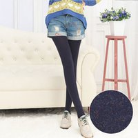 Wholesale Factory outlets new spring and autumn step foot warm colorful cotton leggings