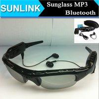 Wholesale Sunglasses Bluetooth Headset Sunglass Stereo Sports Headphone Handsfree Earphones mp3 Music Player DHL