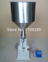Wholesale Stainless steel pneumatic filling machine ml cream paste dispensing liquid packaging equipment A02
