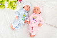 china toys - Retailing Intelligent simulation baby doll rebirth full soft plastic baby doll housekeeping parents and children s toys cm
