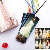 Wholesale 12sets bts sj got7 snsd pm bigbang shinee exo plastic bookmarks
