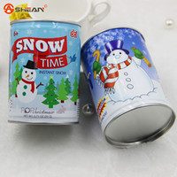 artificial snow spray - Funny Christmas Gifts instant snow magic snow fake snow christmas toys flake spray party artificial Instant snow