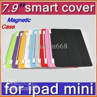 7.9'' other other Cheap Hot DHL 30pcs Smart Magnetic Cover Case for Apple iPad mini 7.9''PC Stander Sleep Wake UP PTA-A