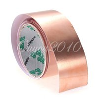 Wholesale 6 Feet Guitar Pickup Copper Environmental Foil cmx180cm EMI Shielding Screening Barrier Tape Adhesive