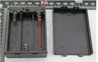 Wholesale F07854 a kasus baterai dengan switch Klip penyimpanan kotak dudukan untuk x AA baterai