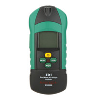 Wholesale MASTECH MS6906 in Multi function Stud Metal AC Voltage Scanner Detector Thickness Gauge w NCV Meter Tester