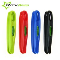 bicycle tire spoons - ROCKBROS Ultralight Bicycle Tire Tyre Spoon Lever Lever Opener POM MTB Mountain Bike Wheel Repair Tool Colors