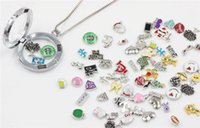 Wholesale Charms Memory Lockets Mix Charms Floating for Living Memory Locket Bracelets Hot Children Cute Cartoon Printing Charms New Mix Ch
