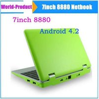 amd google - 7 quot Google Android Dual core VM8880 VIA Netbook Notebook with Camera HDMI G GB Bluetooth MINI Laptop Upgarde