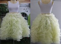 army images free - Tiered Tulle Skirts Real Image Ball Gowns Flouncing Ruffles Fluffy Skirt for Women New Arrival Custom Made Skirts