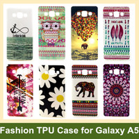 balloon animals flower - Animal Elephant Flower Owl Tribe Love Balloon Soft Gel TPU Cover Case for Samsung Galaxy A5 A5000 A5009