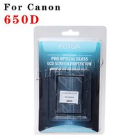 Wholesale Fotga LCD Screen glass Protector for Canon D