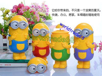 Wholesale Summer Hot Sale Mini fans cartoon Despicable Me handheld Portable Mini Cooling Cool Fans Mist Sport Beach Camp Fan
